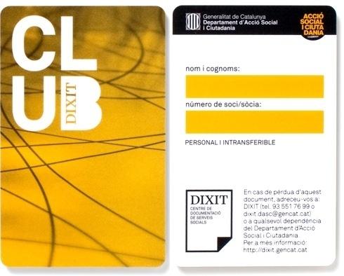 Txell Grà cia / Club Dixit #card #design #graphic #graph #identity #logo #net #club