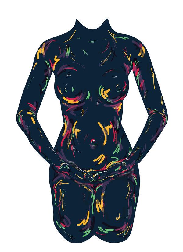 girl #sexy #girl #design #graphic #panzin #illustration #art