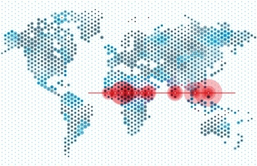 Carl DeTorres Graphic Design #map