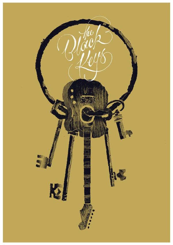 The Black Keys Benny #black #the #benny #hennessy #illustration #poster #music #collage #keys