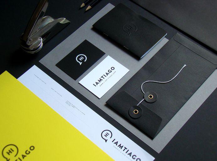 Iamtiago Identity materials on Behance