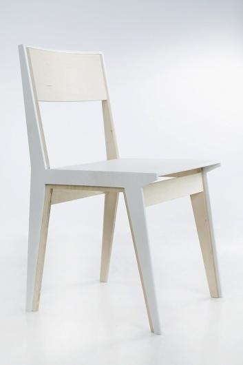 hug chair : ana kraš #white #chair #design #wood #hug