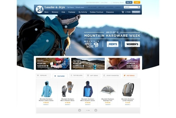 Mountain_hardware_week_full #ecommerce #homepage