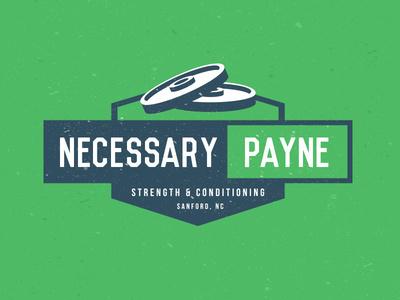 Gym Logo WIP #weight