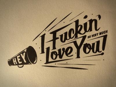 Love! #type #illustration #lettering #valentine