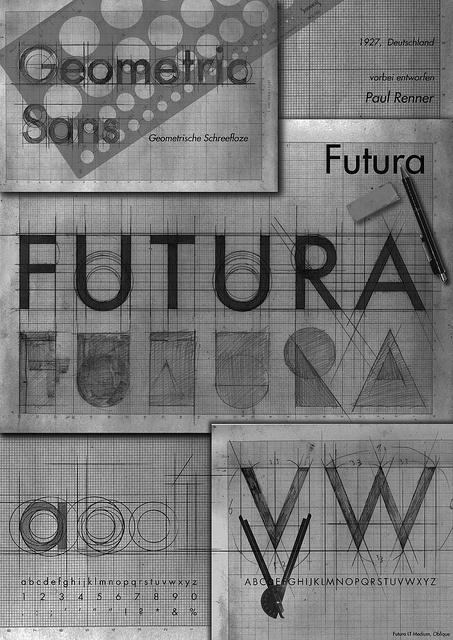 CJWHO ™ (TYPEFACE POSTER FUTURA 2 | Flickr Photo Sharing!) #futura #typeface