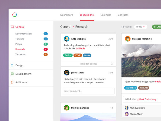 15 Innovative Dashboard Concepts #dashboard #interface #ui