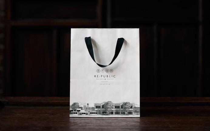 Re:public Restaurant & Bar « Superbig Creative #branding #packaging #menu #print #food #restaurant #illustration #identity #layout #typography