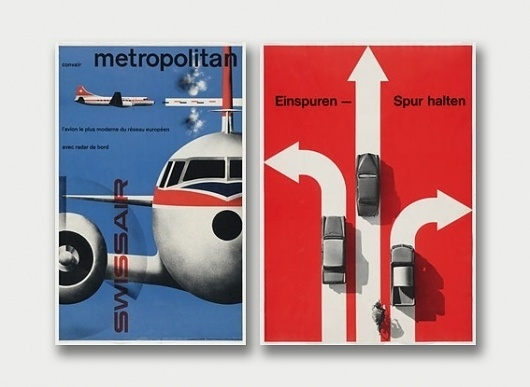 Swiss Origins – Graphic Design Highlights, 1933-1970. / Aqua-Velvet #swiss #design #graphic