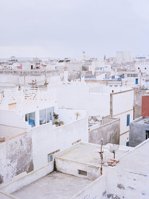 Roofs, Morocco, 2012 #urbanism #architecture #morocco