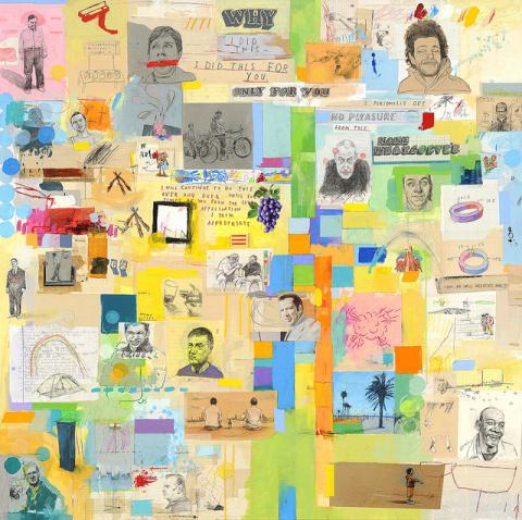 David Fullarton   PICDIT #design #painting #art #mixed #media #collage #drawing