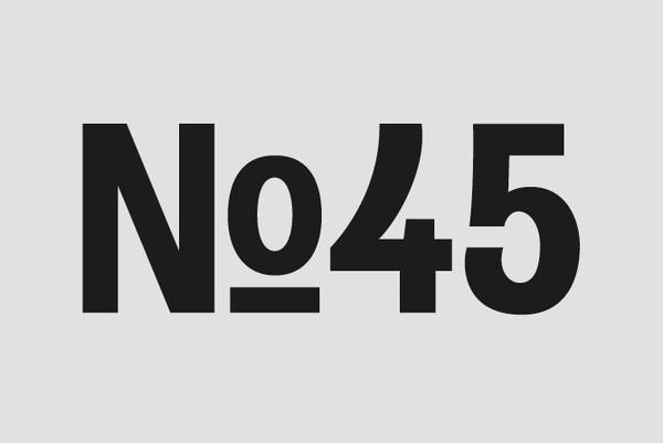 Gaslight Grotesk - ÖGA DESIGN #swiss #design #graphic #typeface #grotesk #typography