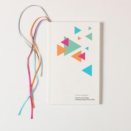 book #scale #book #geometric #cover #triangles #overprint #fluroscent
