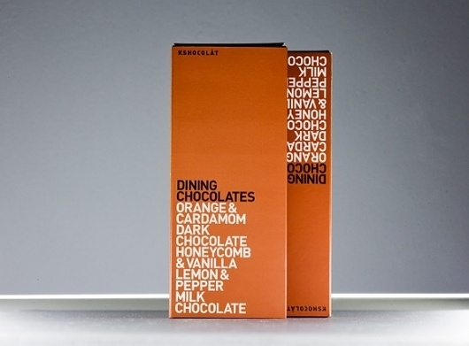 El Studio | Kschocolat #packaging #typography