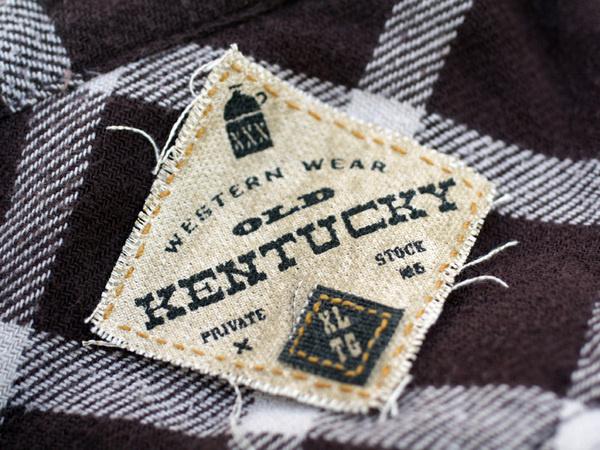 Old Kentucky #logo #appareltag #branding #typography