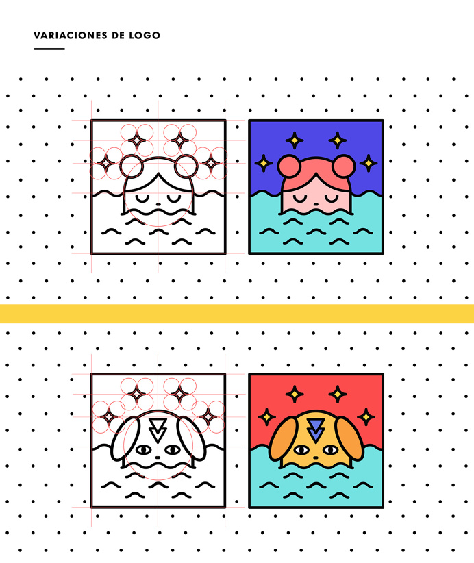 Hondo Estudio minimal flat colorful illustration Camilla Zamora Santiago Chile mindsparkle mag