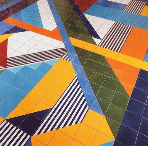 aqqindex:Gio Ponti, Floor of Salzburger Nachtrichten, 1976 #lines