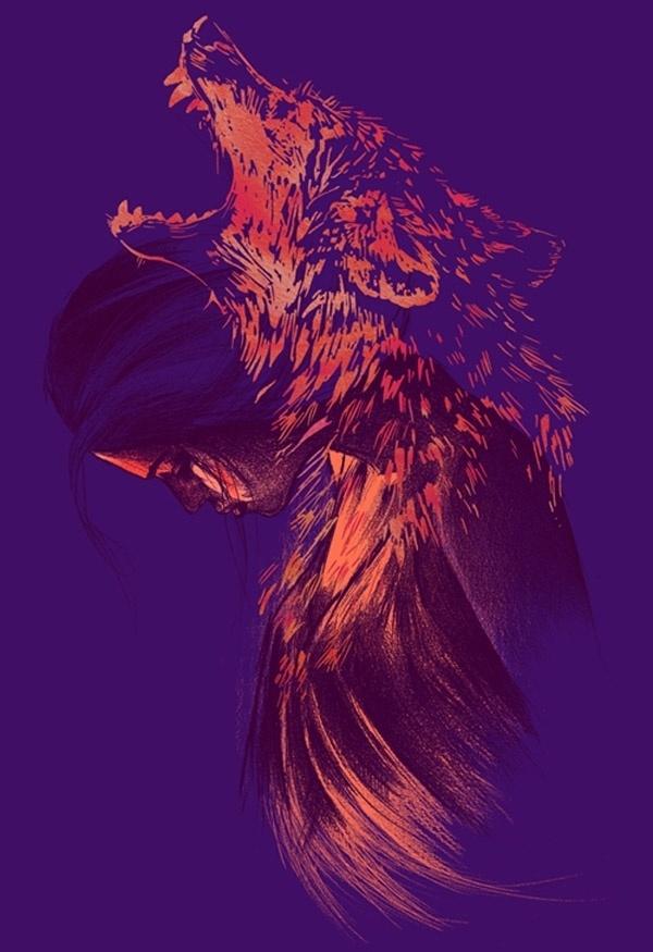 Tumblr #illustration #vibrant #art