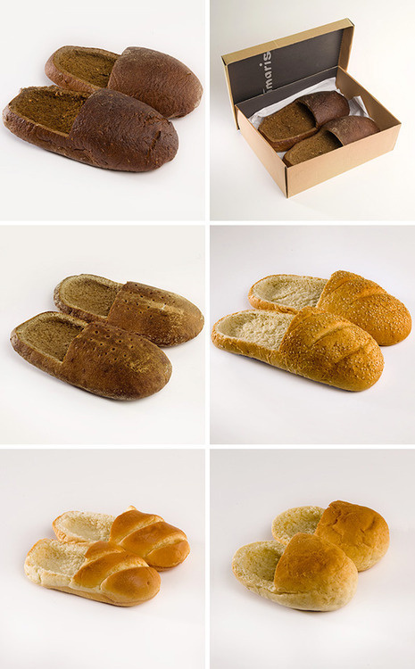 CJWHO ™ (Bread Shoes by R #shoes #design #fashion #lol #bread