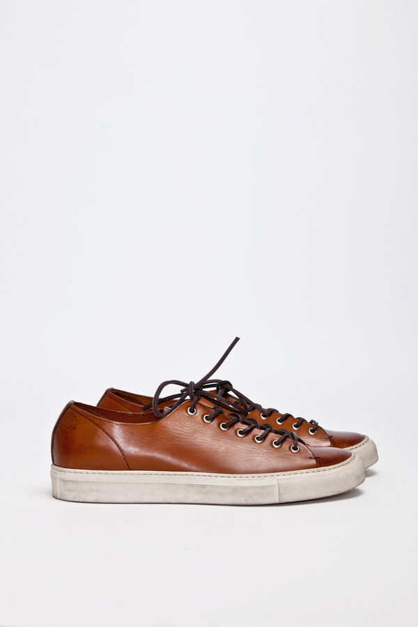 Buttero Tanino Low Leather Brown | TRÈS BIEN #shoes #italian #sneakers #leather #buttero