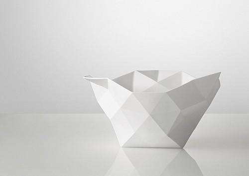 Skandium Crushed bowl by Muuto - mydeco.com #muuto #porcelain #bowl #crushed #decoration