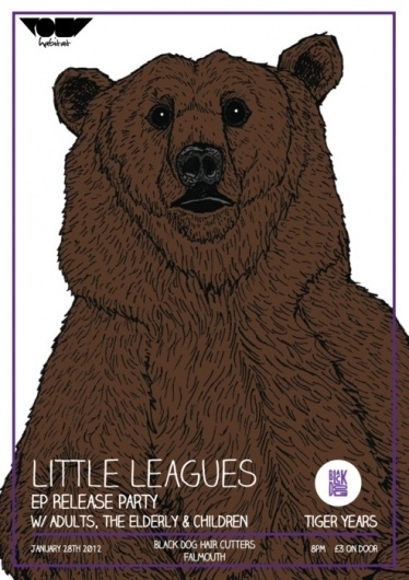 Frick (So the poster has changed again.... Final Poster for Little Leagues EP Launch...) #fricker #harry #little #art #poster #bears #bear #leagues