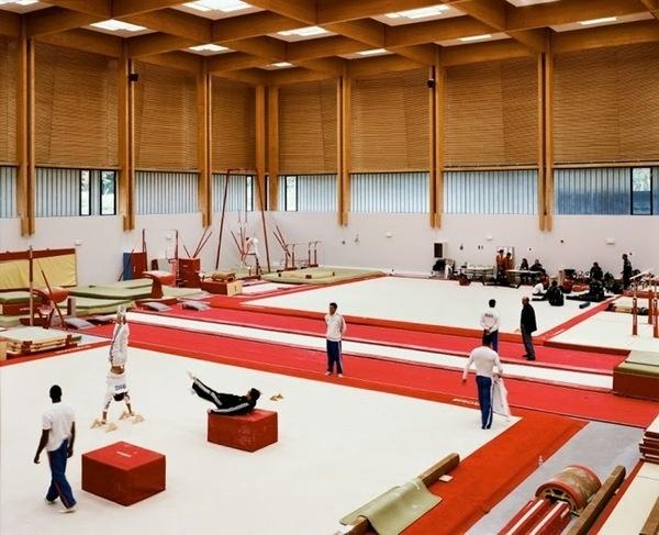 Institut national du sport et de l'éducation physique #interiors #spaces #gym