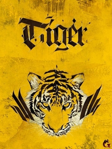FFFFOUND! | Tiger on the Behance Network #tiger