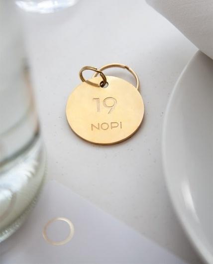 Collate #gold #branding #restaurant