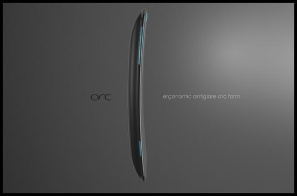 arc    social phone #phone #ux #ui #concept #mobile #device #social