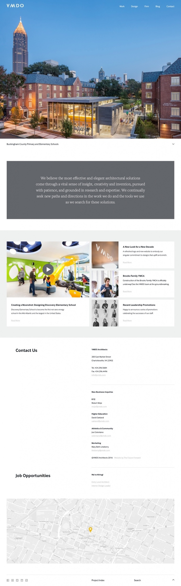 VMDO Architects webdesign feature site of the day beautiful best inspiration designblog mindsparkle mag