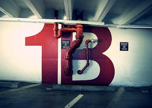 OTAKU GANGSTA #signage #lettering
