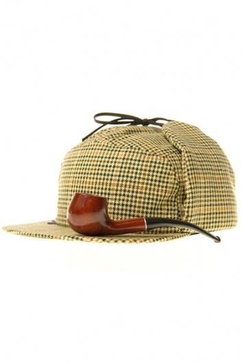 DURKL x SECOND SON Sherlock Package : DURKL ONLINE SHOP #fashion #sherlock #hat #pipe