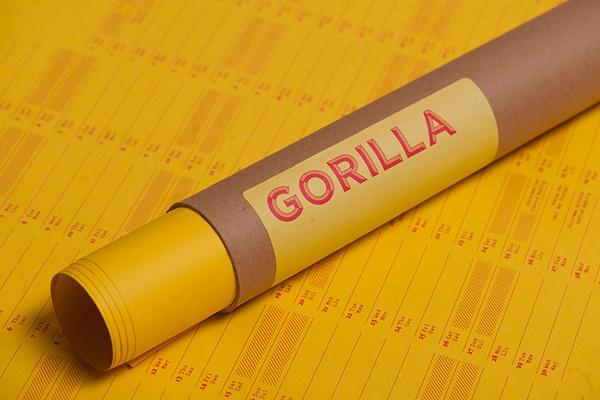 Joseph Burrin | FormFiftyFive – Design inspiration from around the world #pack #gorilla #mail