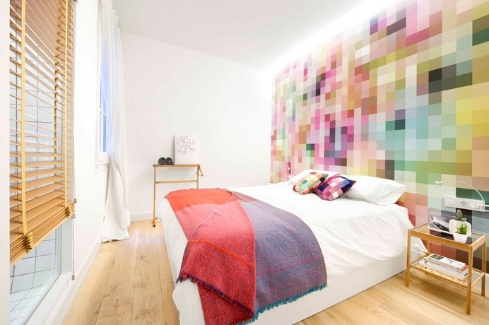 Flat in Sant Joan: excellent renovation performed with low budget #apartments #interiordesign #barcelona #renovation