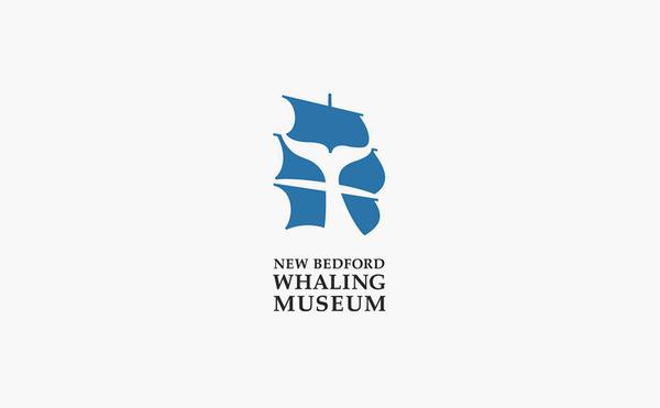 new bedford whaling museum logo design #logo #design