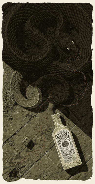 Designersgotoheaven.com NewAaron Horkeyposter. #snake