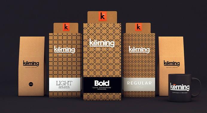 Kërning — The Dieline #packaging #coffee
