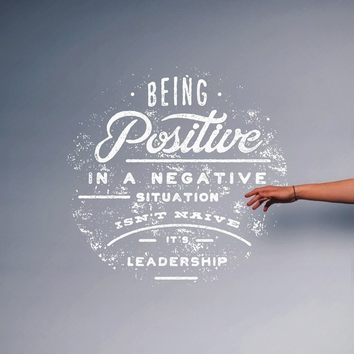 Being Positive #quote