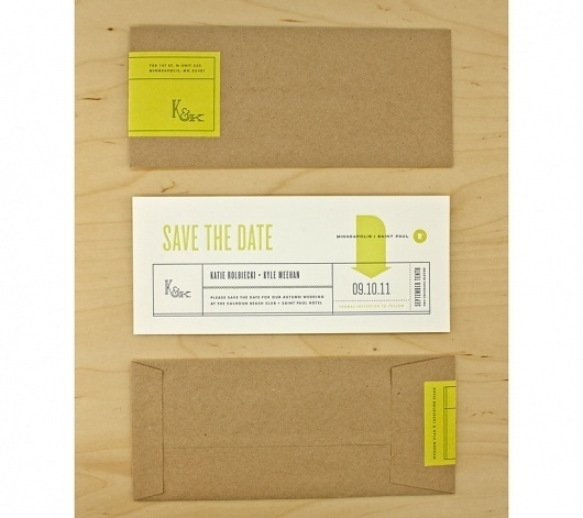 Graphic-ExchanGE - a selection of graphic projects #save #date #the #minimal #wedding