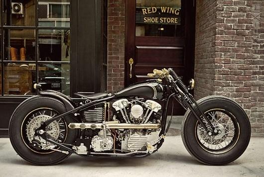Rough Crafts x Zero Engineering Custom Harley Knucklehead | LuxScene