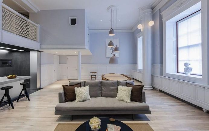 Bond Street Apartment by Dash Marshall: Wormhole Project 6