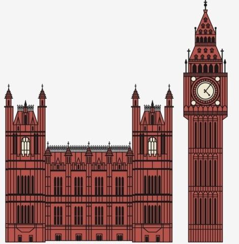 FFFFOUND!   Big Ben and Houses of Parliament. Crazy detail = crazy hours ... on Twitpic #ben #bid