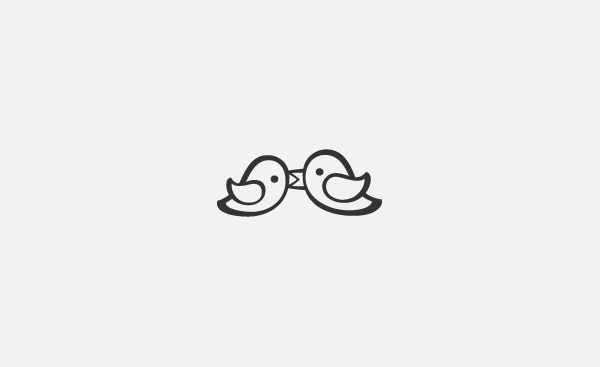 Something Blue icon #logotype #icon #bird #brand #logo #wedding #love