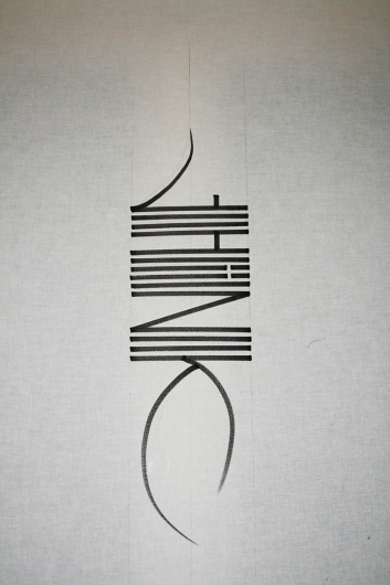 All sizes   think.   Flickr - Photo Sharing! #calligraphy #think #greg #papagrigoriou #typography
