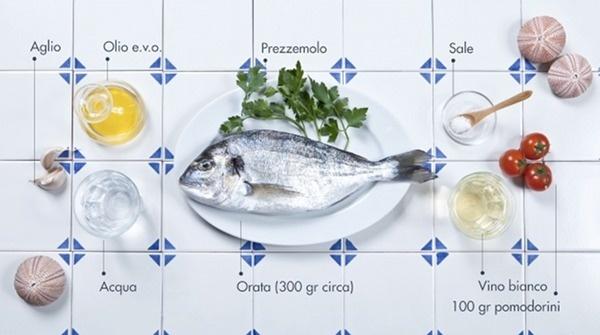 orata_ingredienti #ingredients #italian #recipe #food