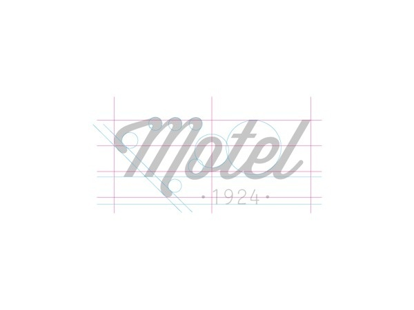 Motel hotel branding / brand identity on Behance