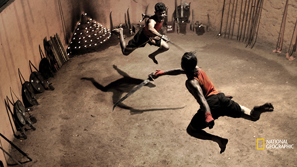 Kalaripayattu Fighters, India #martial #kalaripayattu #india #fighters #photography #art