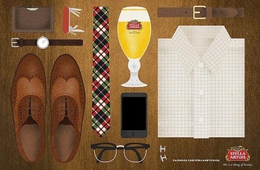 Illustration: Stella Artois   Flickr - Photo Sharing! #illustration #branding #bier