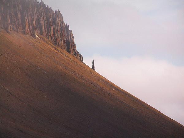 by The New Paradigm #horizon #mountain #stones #monolith
